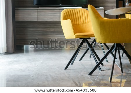 Furniture chair  table decoration, Chairs in modern design