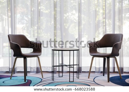 Furniture chair table decoration, Chairs in modern design #668023588