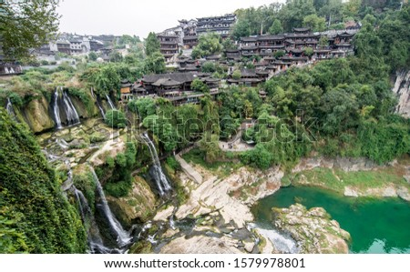 Furong town is an ancient town with a history of two thousand years. It is located in yongshun county, xiangxi autonomous prefecture, hunan province, China