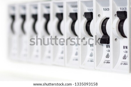 Fuses in a fusebox