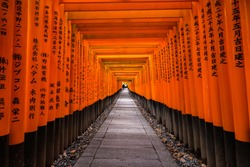 Fushimi Inari Shrine is an important Shinto shrine in southern Kyoto. It is famous for its thousands of vermilion torii gates.