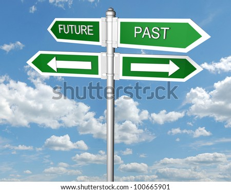 Future and Past signpost
