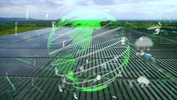 Future environmental conservation and renewable energy modernization development by using technology of sustainable resources to reduce pollution and carbon emission .