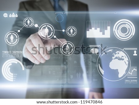 Future of Communication - technology Concept