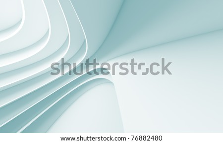 Futuristic Architecture Background - stock photo