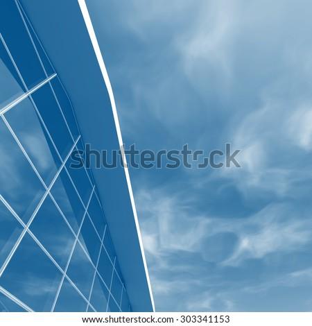 Futuristic architecture building. 3d rendering #303341153