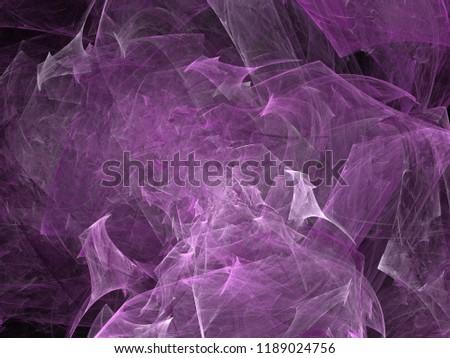 Futuristic digital 3d design art abstract background fractal illustration for meditation and decoration wallpaper #1189024756