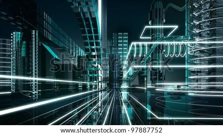 futuristic megalopolis1