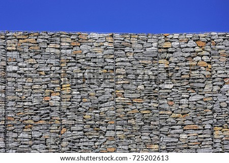 Gabion Retaining Wall Blocks with Mesh Wire Stone Basket