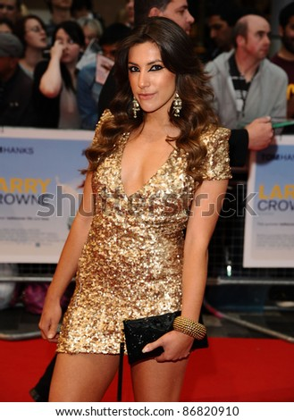 "Gabriella Ellis (Made in Chelsea) arrives for the ""Larry Crowne"" premiere at Westfield, Shepherd's Bush, London. 06/06/2011  Picture by: Alexandra Glen / Featureflash"