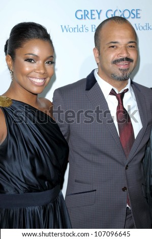Gabrielle Union and Jeffrey Wright  at the Los Angeles Premiere of 'Cadillac Records'. The Egyptian Theater, Hollywood, CA. 11-24-08