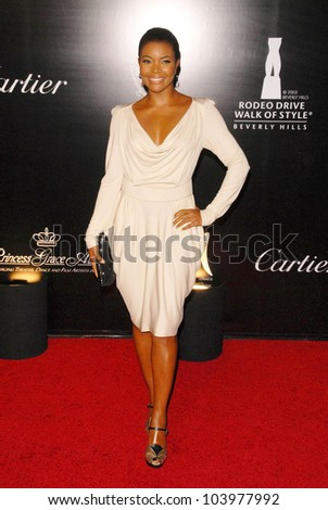 Gabrielle Union at the 2009 Rodeo Drive Walk of Style Award Gala. Rodeo Drive, Beverly Hills, CA. 10-22-09
