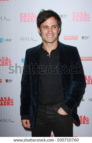 """Gael Garcia Bernal at the """"Casa De Mi Padre"""" Los Angeles Premiere, Chinese Theater, Hollywood, CA 03-14-12"""