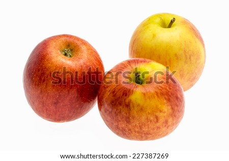 gala apples over white background #227387269