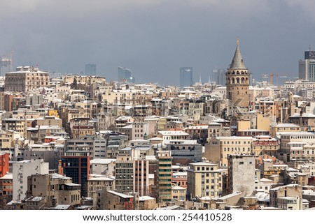 Galata and cityscape of Istanbul