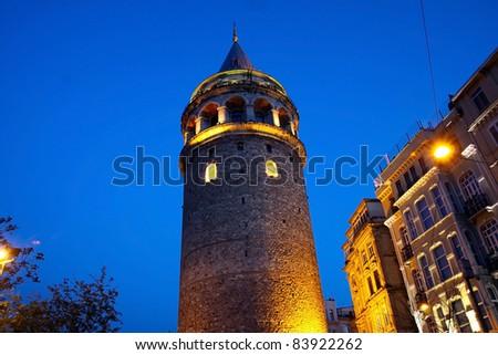 Galata Tower in istanbul.