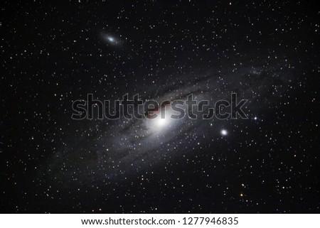 Galaxy. Andromeda's galaxy
