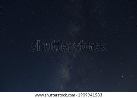 Galaxy in Mid-Summer in Chishang(仲夏池上夜星空) ストックフォト ©