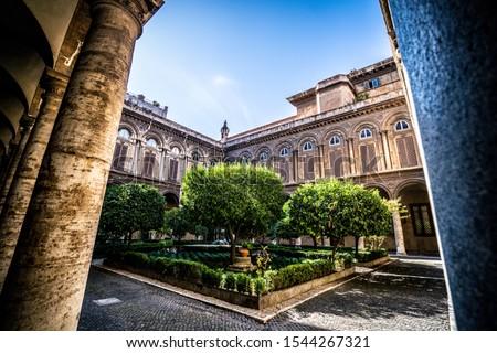 Galleria Doria Pamphilj in Rome. Italy Foto d'archivio ©