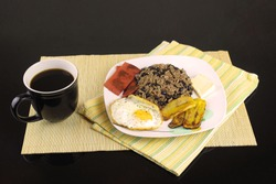 Gallo Pinto typical food from Costa Rica
