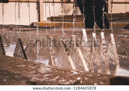 Galvanization or galvanizing is the process of applying a protective zinc coating to steel or iron, to prevent rusting.