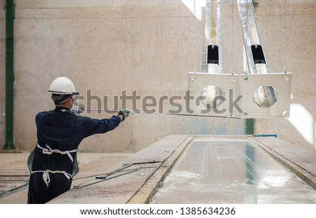 Galvanization or galvanizing is the process of applying a protective zinc coating to steel or iron, to prevent rusting. Сток-фото ©