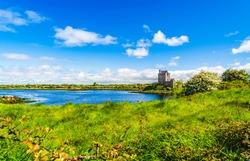Galway, Kinvara, Ireland: Dunguaire Castle in Galway Bay, Ireland.