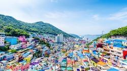 Gamcheon Culture Village,Busan, South Korea
