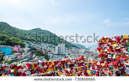 Gamcheon Culture Village,Busan, South Korea #730868866