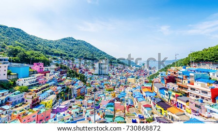 Gamcheon Culture Village,Busan, South Korea