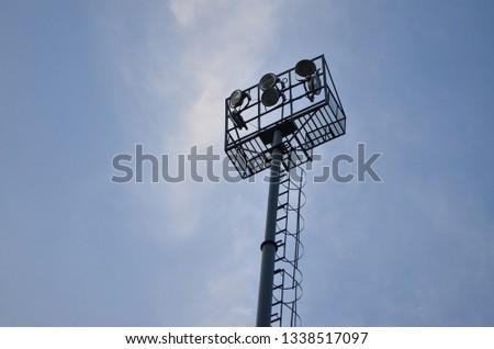 Game on hai ! Floodlights stadium gamesceneon #1338517097