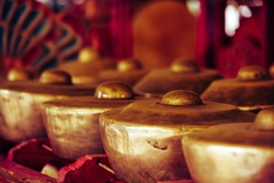 gamelan is a traditional musical instrument of Indonesia