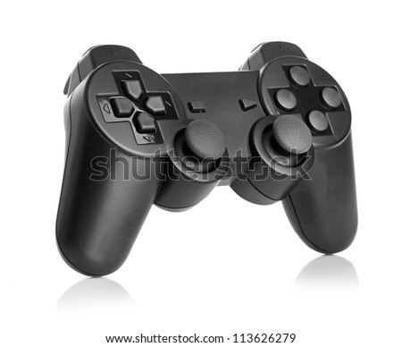gamepad isolated on a white background