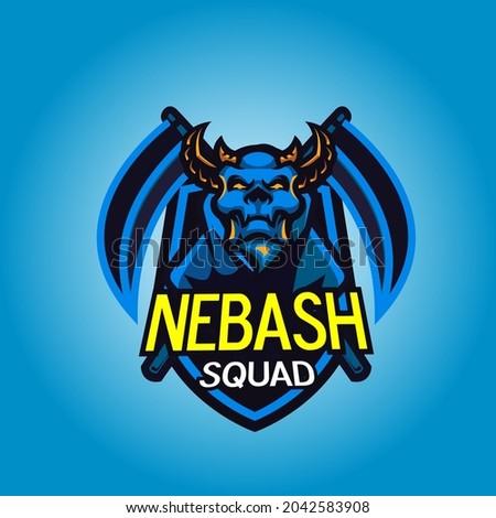 Gaming mascot logo- esport logo