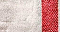 gamosa red and white cotton clothes texure background