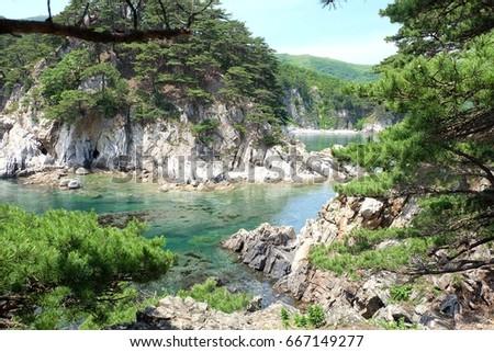 Gamov Peninsula. Primorye. Russia. #667149277