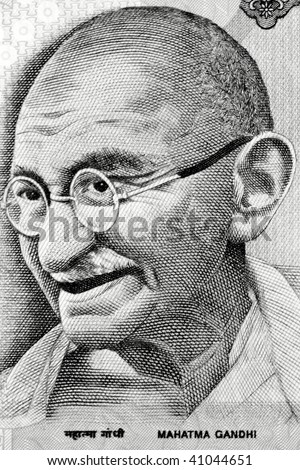 Gandhi on Rupee note