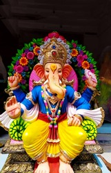 Ganesh Chaturthi is celebrated with great belief  devotion and dedication for 10 days It is the time when all communities and localities come together to welcome Bappa with full zeal and vigor