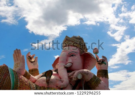 Ganesh Park in Nakhon Nayok, Thailand 13 November 2558