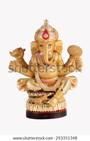 Ganesh sculpture