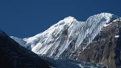 Gangapurna, high mountain of the Annapurna Range