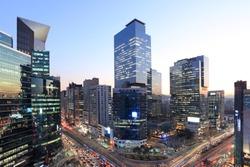 Gangnam Station Crossroad - Seoul, Korea