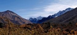 Ganja la trekking from Langtang valley - NEPAL