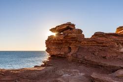 Gantheaume Point at sunset, Broome, Kimberley, Western Australia, Australia