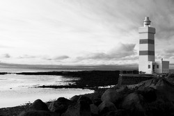 Garður Old Lighthouse west coast Iceland