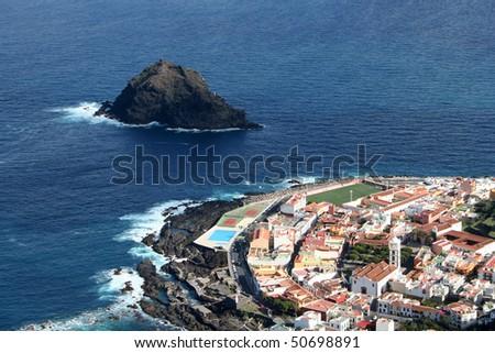Garachico. Town in Tenerife island, Canarias