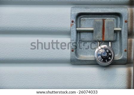 Garage Door Padlock Garage Door at a Self Storage