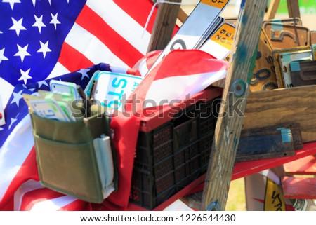 Garage sale, miscellaneous goods #1226544430