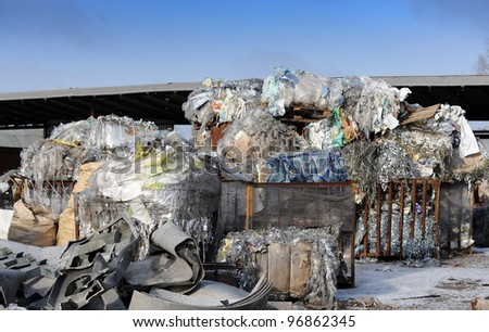 Garbage outdoors