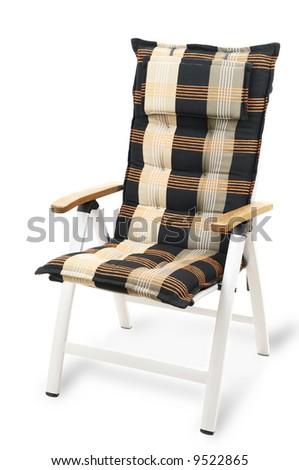 Garden armchair isolated on white background #9522865